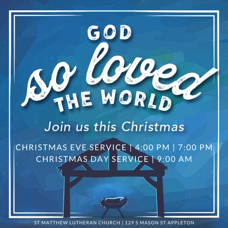 Christmas Services Listing 2019